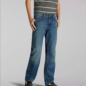 Boys Lee X-treme Comfort Straight Fit Jeans 18